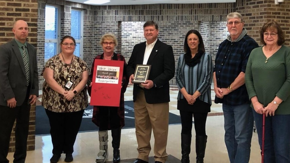 WUES recognizes local church for support