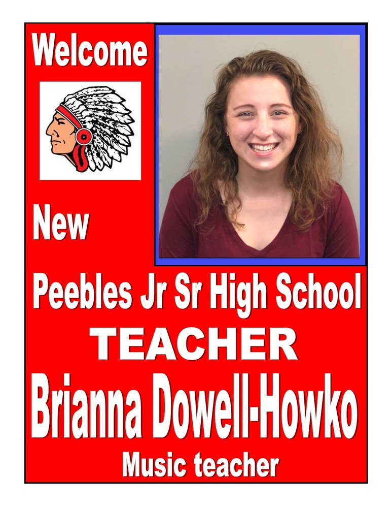 New music teacher hired at Peebles High School