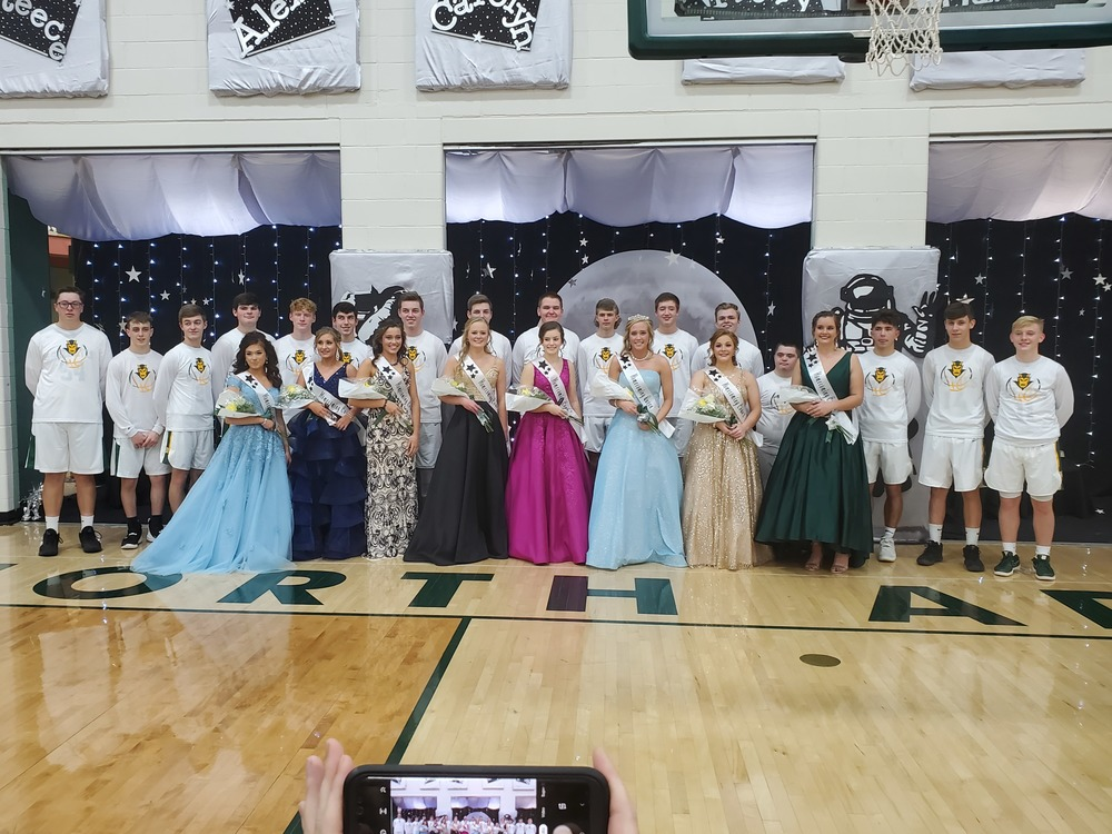 2019 Homecoming Court and Queen
