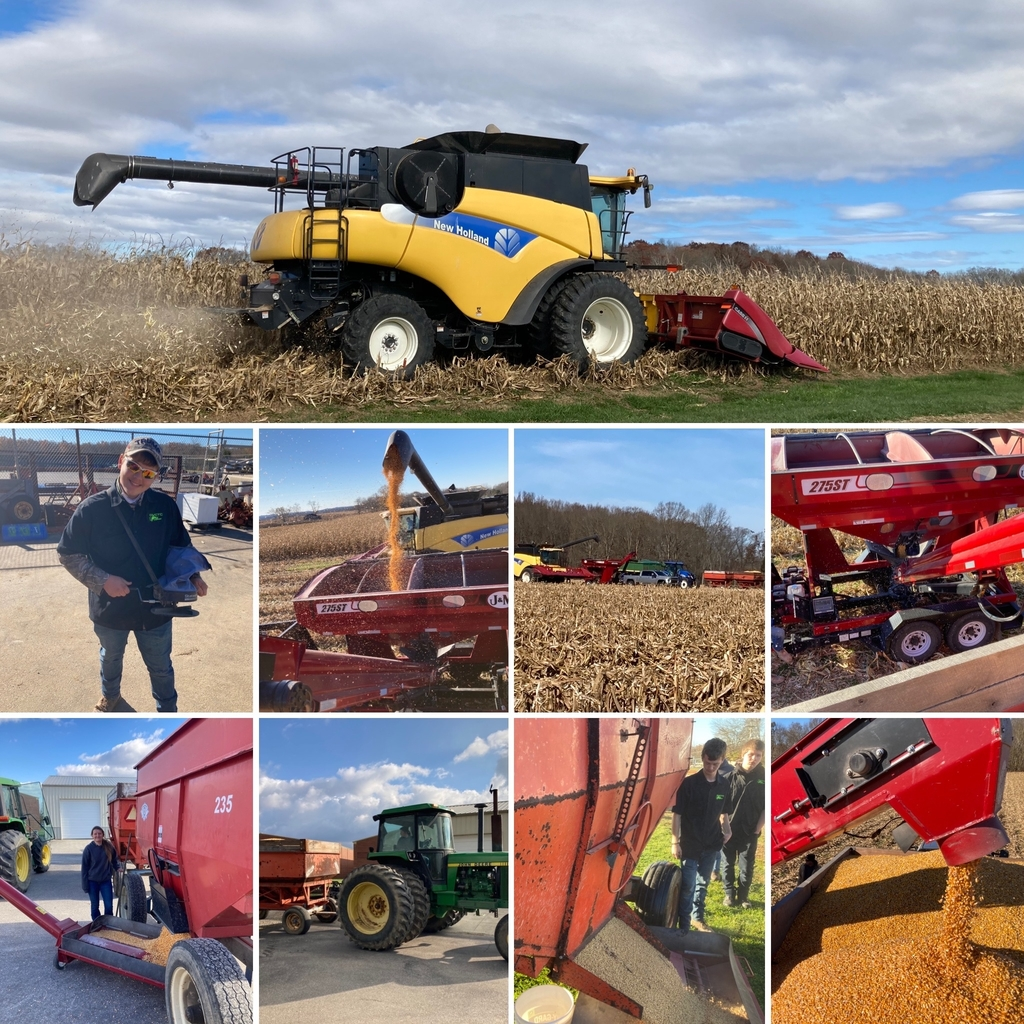 OVCTC Ag Business Program - November 2020 Corn Harvest