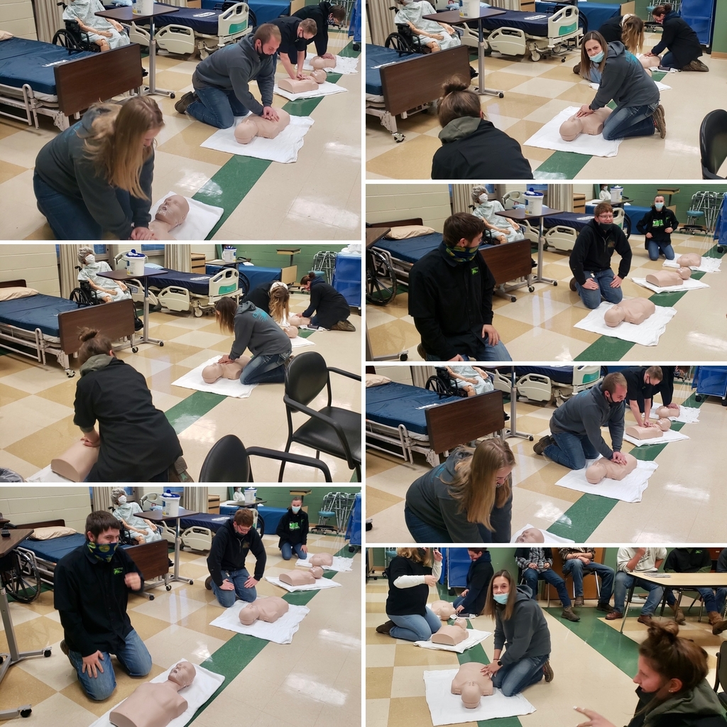 CPR class for Ag Business & Ag Mechanics students