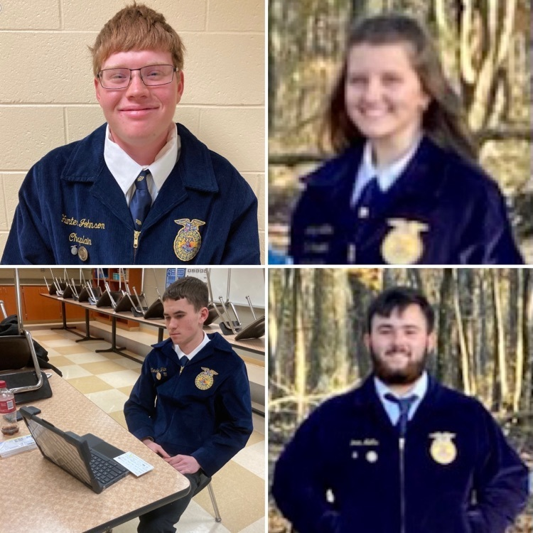 OVCTC FFA PUBLIC SPEAKING CONTESTANTS