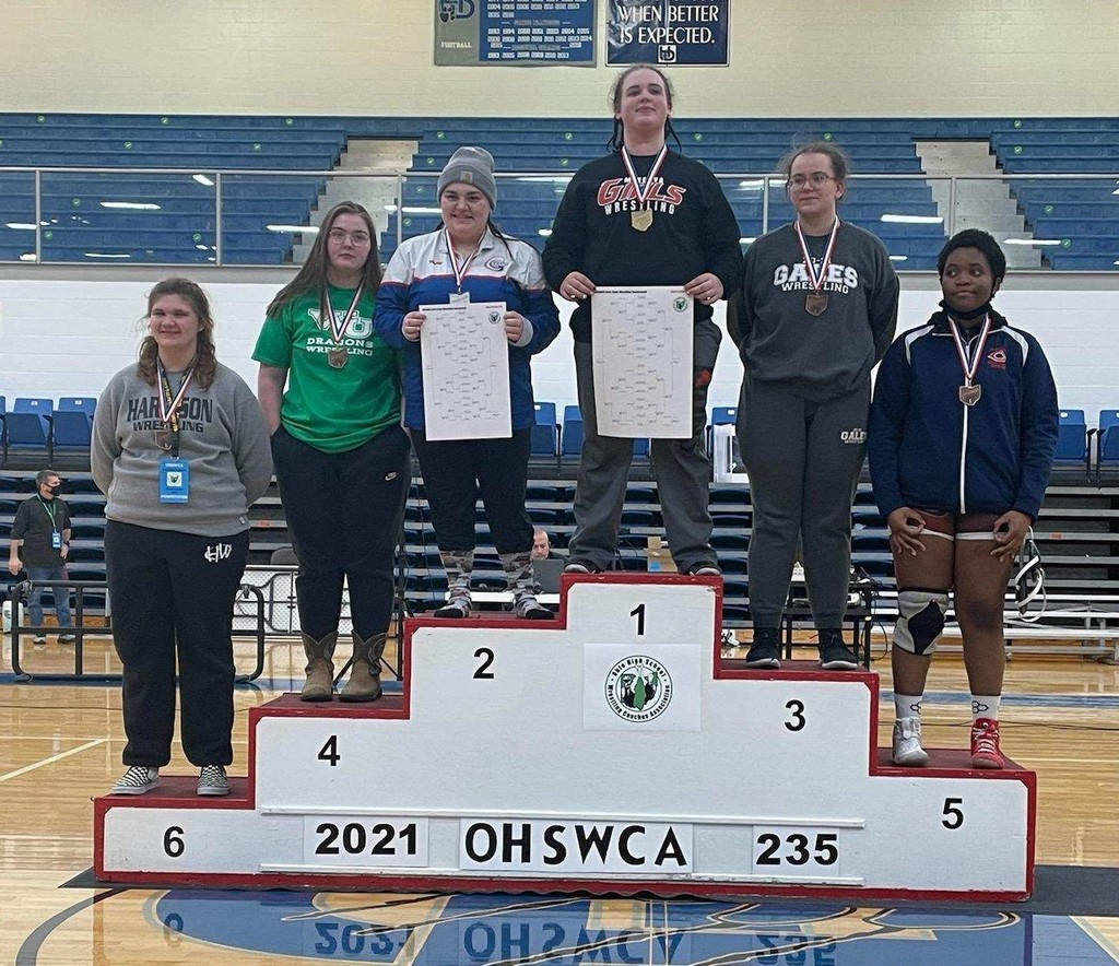 Celina Nickel 4th in the state