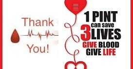 Thank you for donating blood!