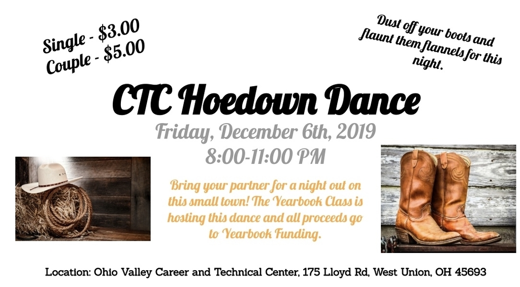 Join the Yearbook Class for the OVCTC Hoedown