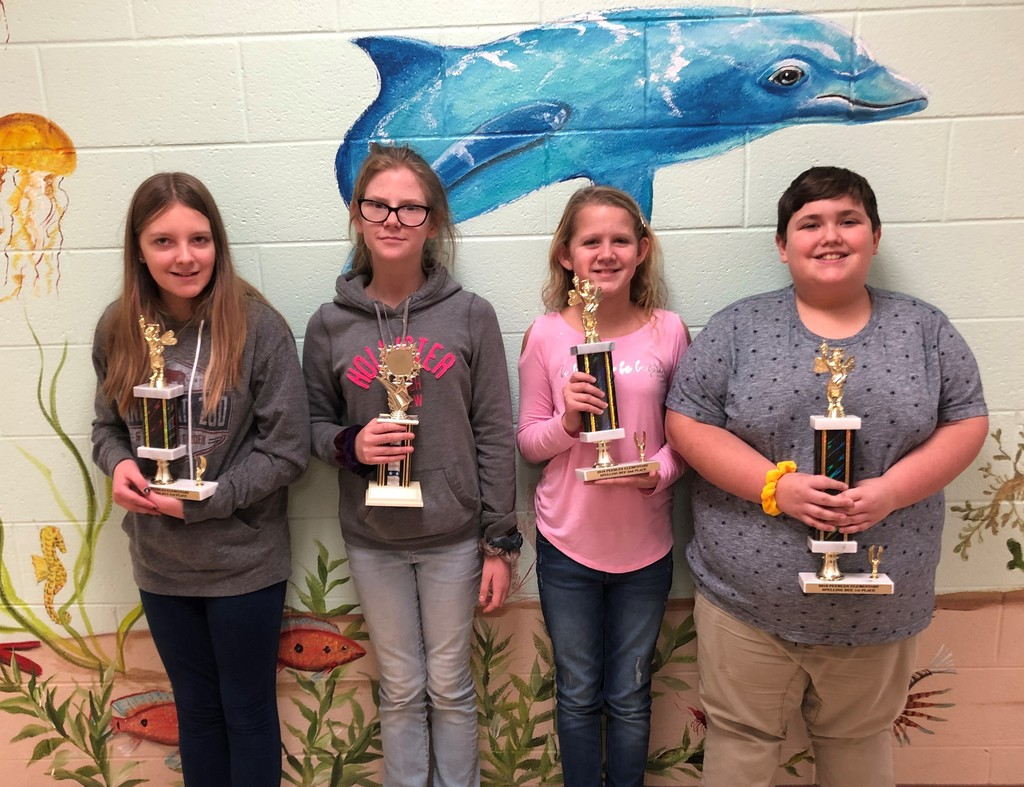 Spelling Bee Champs!