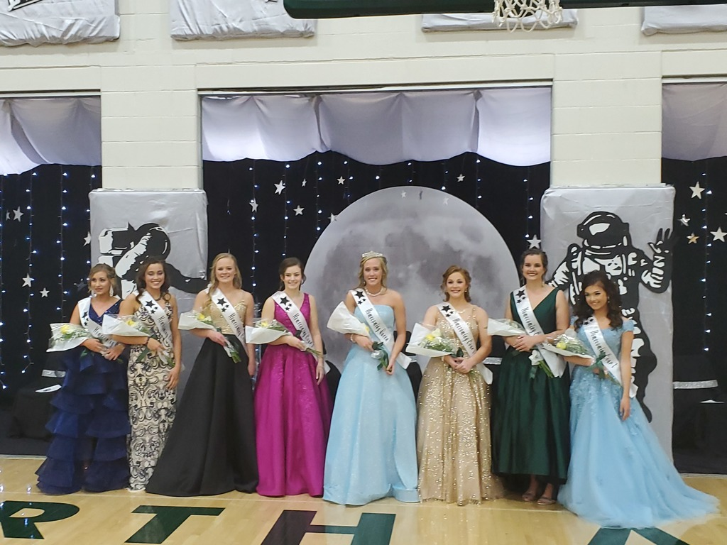 2019 Homecoming Queen and Court