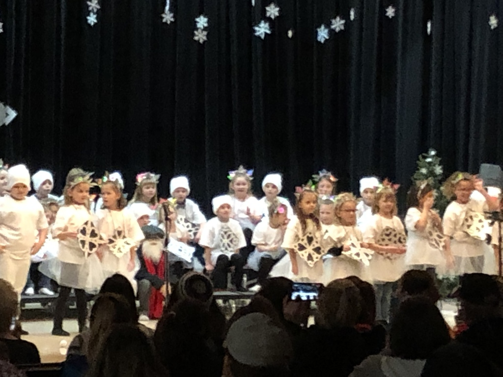 1st grade Christmas program