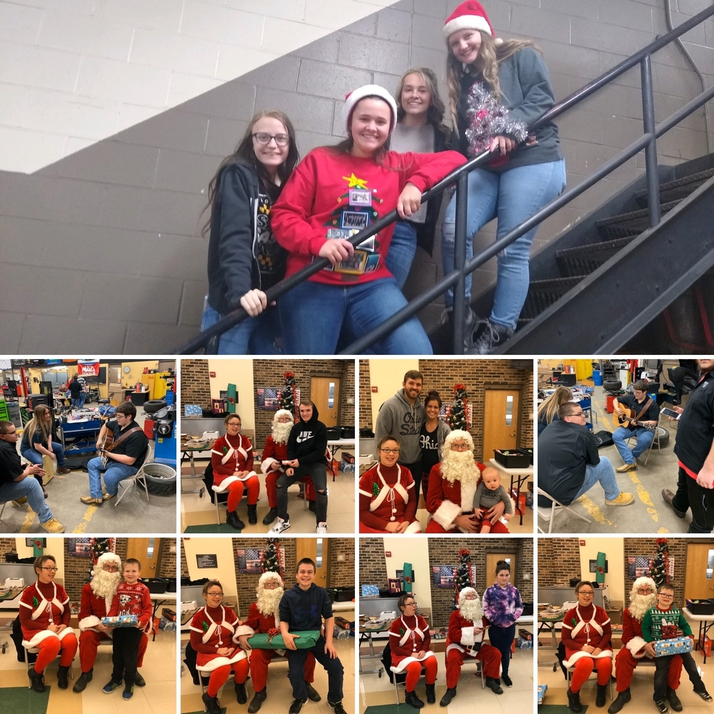 OVCTC students & staff enjoying the holidays!