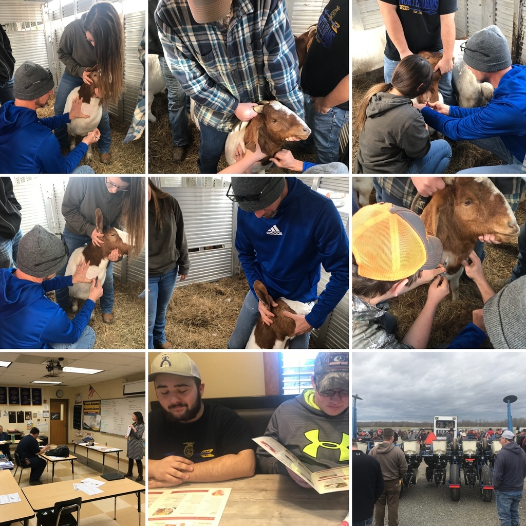 A busy week for the OVCTC Ag Business Program!