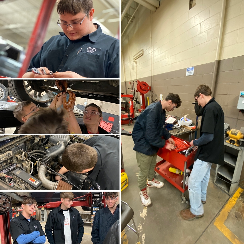 OVCTC Auto Tech lab students at work!