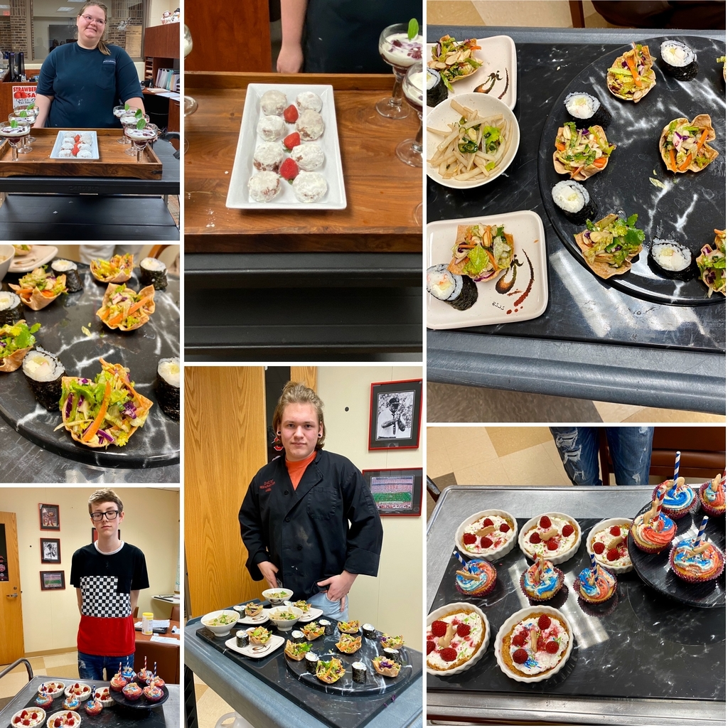 OVCTC Culinary Arts competition projects!