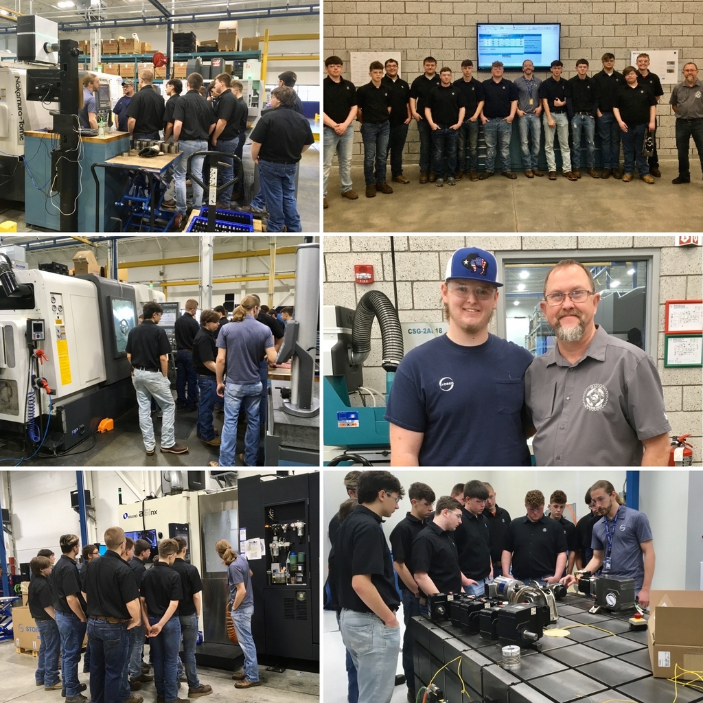 OVCTC Juniors in the CNC Machining Program visit Stoner Drives, Inc.