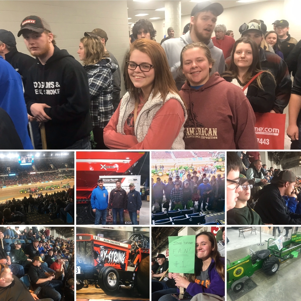 OVCTC FFA at the National Farm Machinery Show.