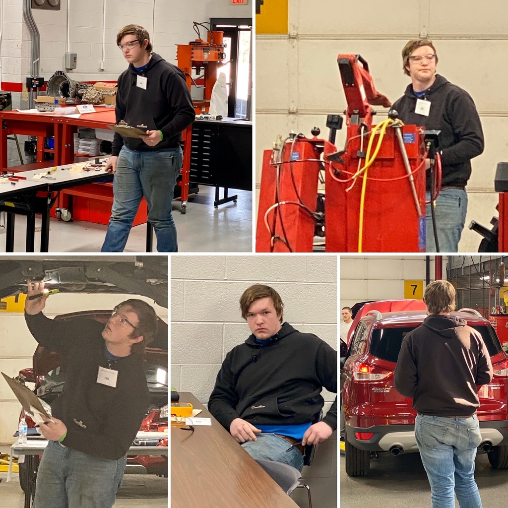OVCTC Auto Technology competitor, Remy McNown