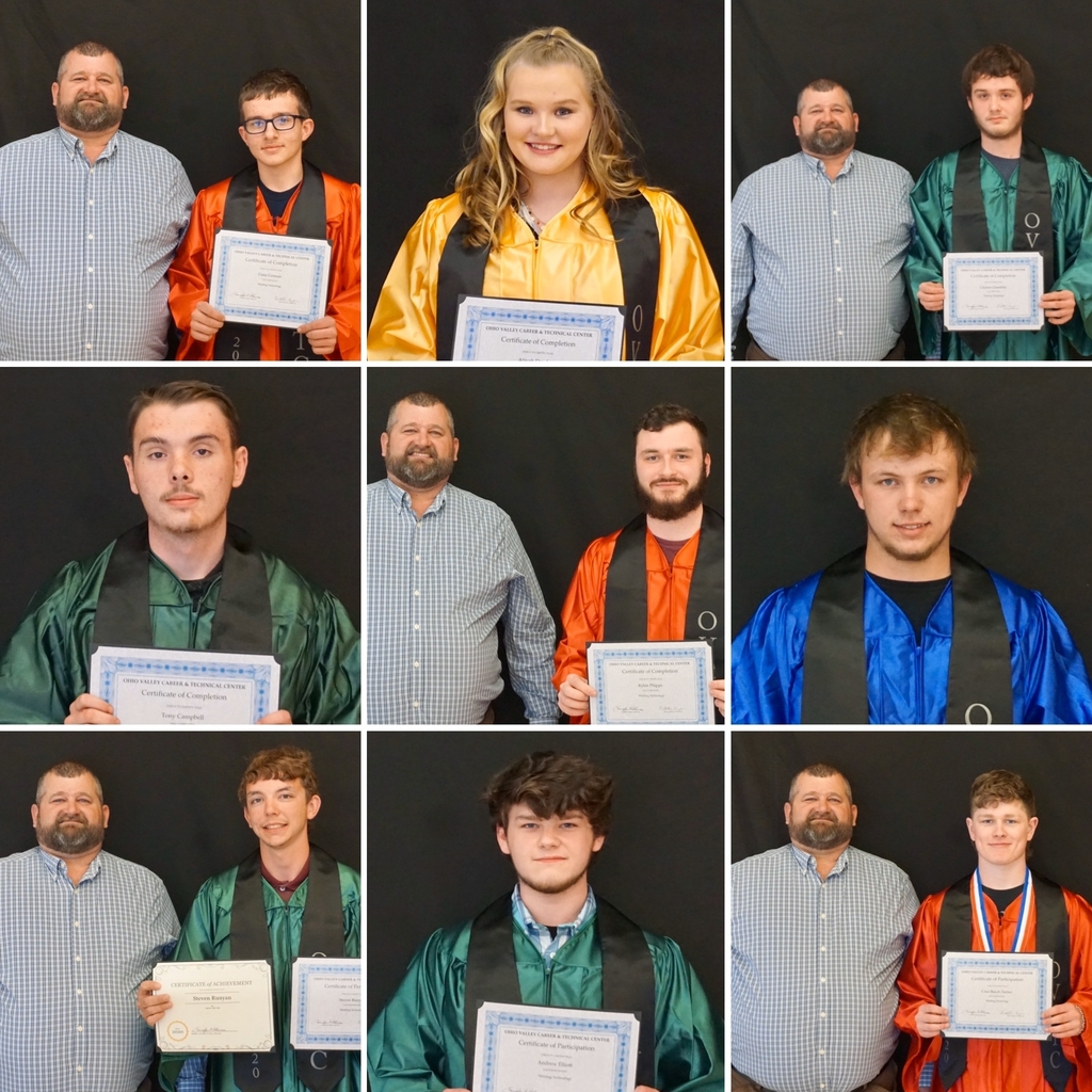 2020 OVCTC Senior Completion Ceremony - Welding Technology Program