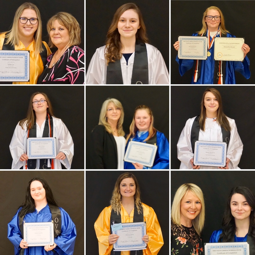 2020 OVCTC Senior Completion Ceremony - Cosmetology, Early Childhood Education & Health Careers Technology