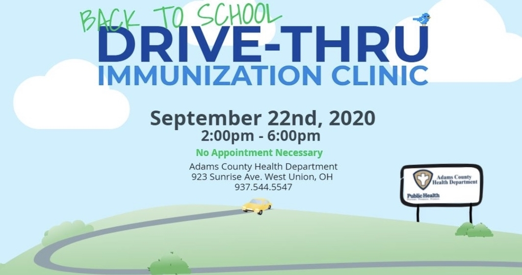 Immunization Clinic - Sept. 22nd