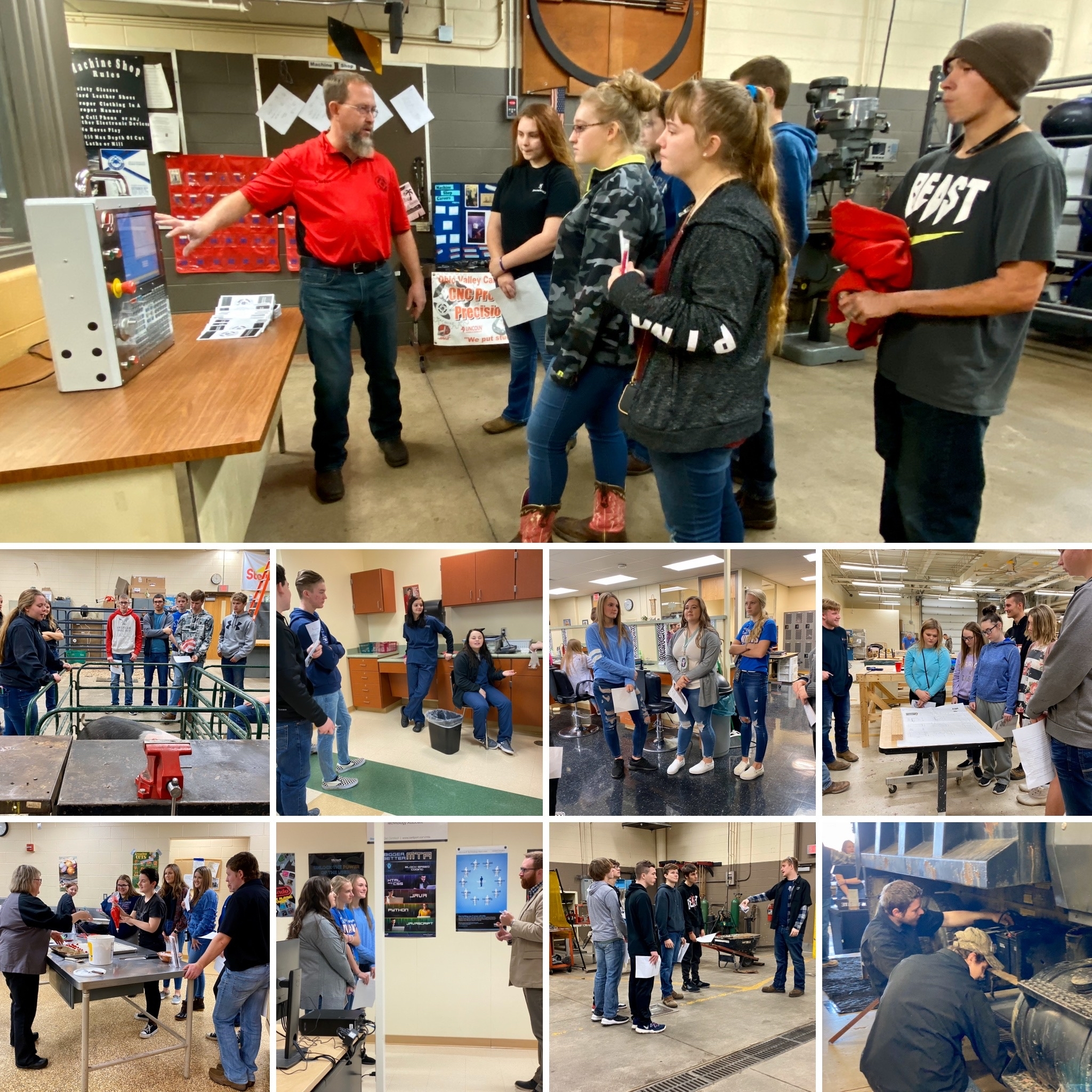 OVCTC HOSTS SOPHOMORE TOURS WITH PEEBLES HS!